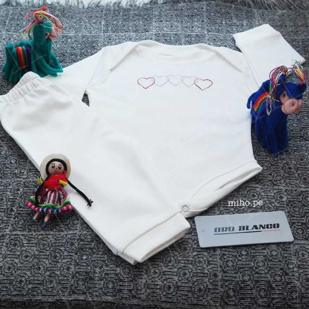 Body y pantalón para recién nacido - Ropa para bebé de 0 a 3 meses