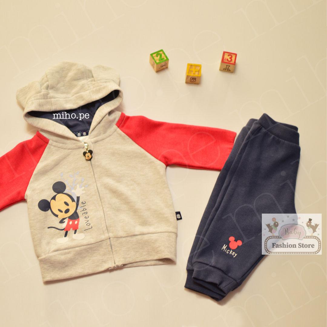 Conjunto Baby Mickey Mouse - Ropa para bebés de 3 meses