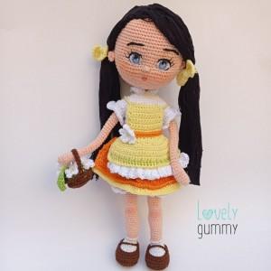 Muñeca Esperanza   - Lovelygummy - Personalizable - flores