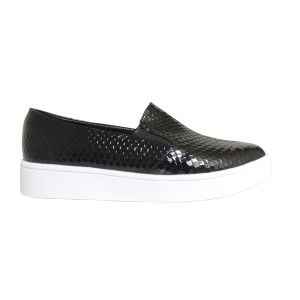 Slip on mujer Confort color negro