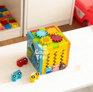 Cubo Didáctico Multifuncional - Juguetes Para Niños