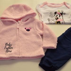 3 pzas minnie baby rosado - Baby Fashion Store