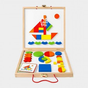 Maletín Tangram - Juguetes didácticos para niños