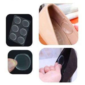 Botones protectores de gel silicona para zapatos