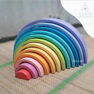 Arcoiris waldorf - Juguetes para niños