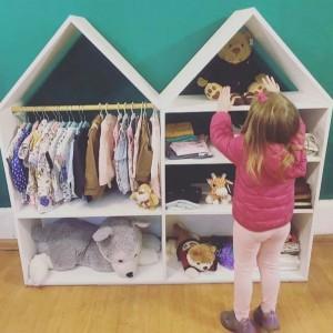 Armario casita para niños - Deco Baby