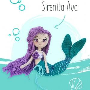 Sirena Ava - Muñeca de Fantasía - Lovelygummy