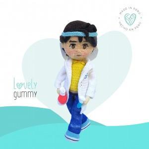 Rafael  el Doctor - Muñeco Personalizable  - Lovelygummy