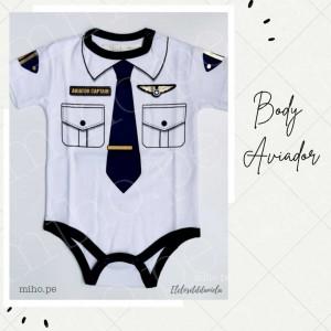 Body Aviador - Ropa para bebés de 0 a 24 meses