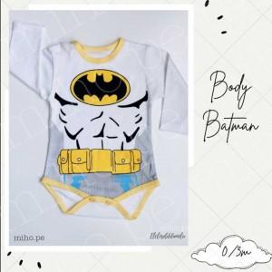 Body Batman - Ropa para bebés de 0 a 3 meses
