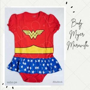 Body Mujer Maravilla - Ropa para bebés de 3 a 24 meses