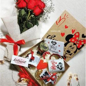 Box y rosas - Regalo para Ocasión Especial