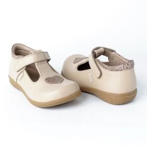 Balerinas de Cuero Nude - Zapatos de Niñas