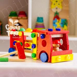 Camión de Bombero Desarmable - Juguetes para niños