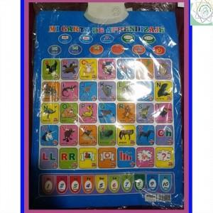 Cartilla de aprendizaje interactiva para niños