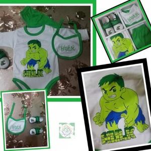 Conjuntos 4 piezas para bebés niños - hasta 4 meses