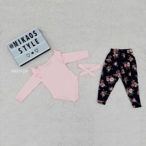Conjunto Micaela color Palo Rosa - Talla 4 - Ropa para bebés