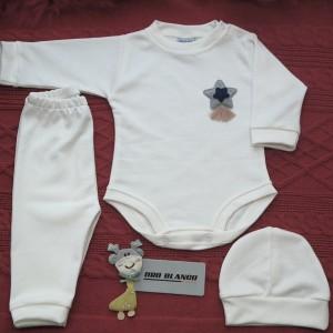 Ajuar Set de 3 Piezas - Recién nacido a 3 meses