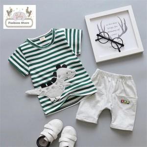 Conjunto Dinosaurio - Color verde - Ropa para bebés de 1 año