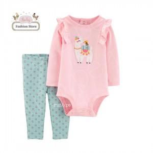 Conjunto Carters Llamita - 2 piezas - Ropa para bebés de 12 a 18 meses