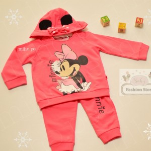 Conjunto Minnie Mouse colar - Ropa para bebés de 9 a 12 meses