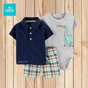Conjunto Dinosaurio - Atuendo Sport - Ropa para niños de 24 meses
