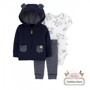 Set 3 Piezas Osito Carters - Baby Fashion Store