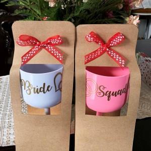 Copas personalizadas para despedida de soltera