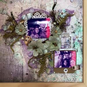 Cuadro personalizado con flores - Regalo ideal