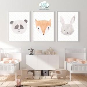 Cuadros Decorativos Infantiles - Personalizado con el nombre de tu bebé