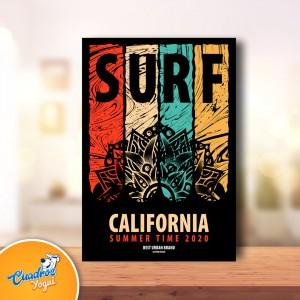 Cuadro Vintage - Estilo Surf - Frases para decorar