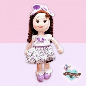 Muñeca Amigurumi Crochet - Regalo para niñas