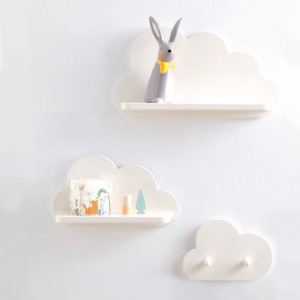 Set Repisas Nubes - Deco Baby