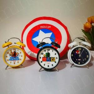 Reloj Despertador Marvel - Superhéroes