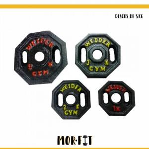 Discos de 5Kg - Artículos de Gimnasio