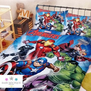Set de Sábanas Avengers - Ropa de Cama