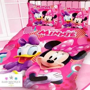 Set de Sábanas Minnie Mouse - Decoración - Ropa de Cama