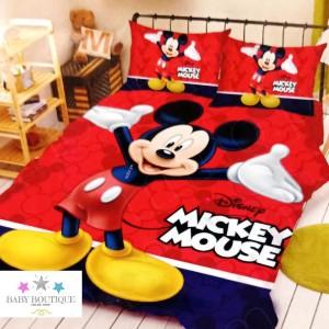 Set de Sábanas Mickey Mouse - Decoración - Ropa de Cama