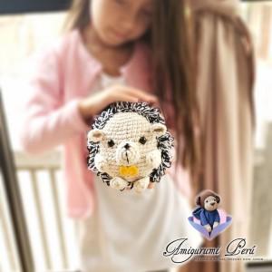 Erizo - Amigurumi crochet - Regalo para niños