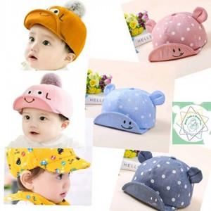 Sombreros Variados Cute - Para bebé desde 3 meses hasta 4 años