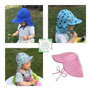 Sombrero con Protección Solar - Bebé desde los 3 meses a 3 años