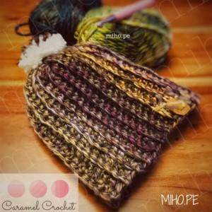 Gorro Multicolor - Técnica crochet
