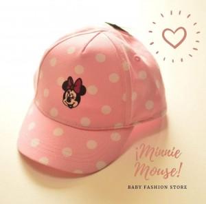 Gorro Lunares Minnie Mouse
