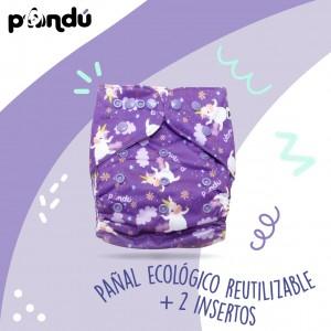 1 Pañal Premium Ecológico y Reutilizable-Artículos de bebé