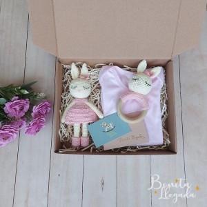 Box Personalizada de  Conejita para bebés