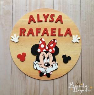 Placa Decorativa Personalizada - Decoración Infantil