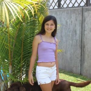 Polo croptop niña - estandar - verano