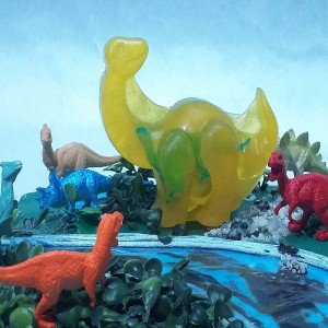 Jabón Dinosaurio de Manzanilla - Jabones para bebés y niños