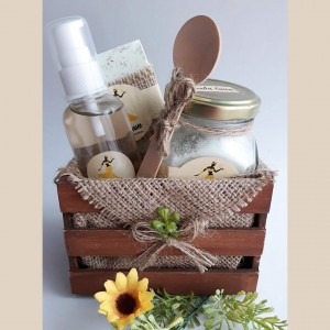 Jabón, Sales Exfoliates Aromáticas y Aceite Corporal