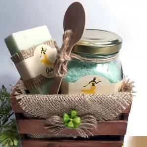 Jabón y Sales Exfoliantes Aromáticas